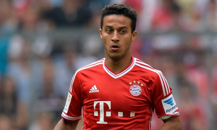 Thiago Alcantara di incar Man City