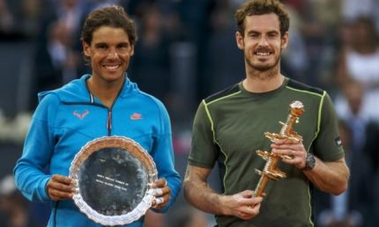 Andy Murray Juara Madrid Open, Nadal Juara Ke-2