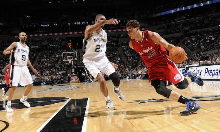 CLIPPERS dan SPURS sama Kuat